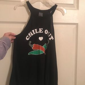 Cute Graphic Tank from ModernLux